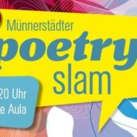 3. Münnerstädter Poetry Slam